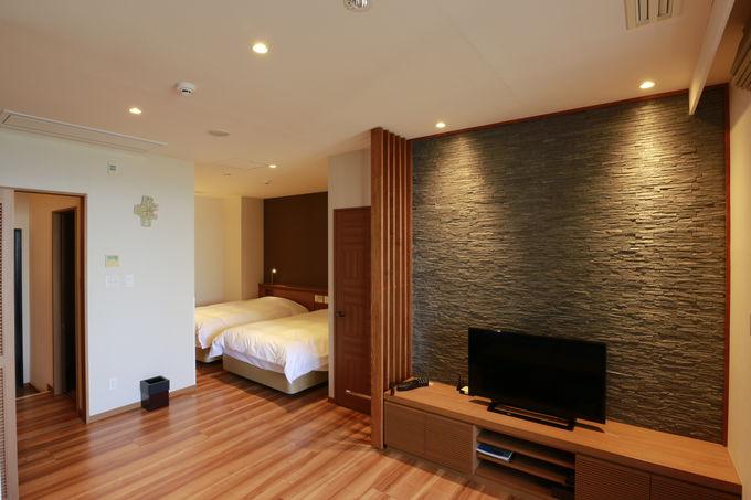 最もコンパクトな客室でもゆったり51平方メートルの広さ!
