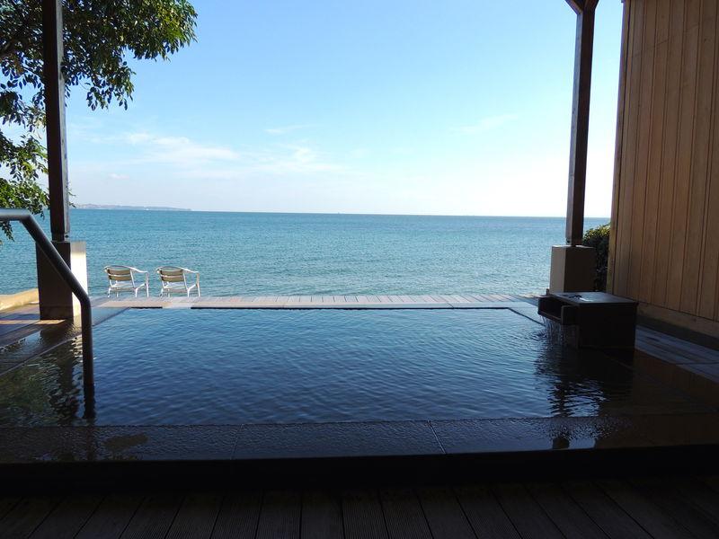 別府「AMANE RESORT SEIKAI」で温泉と海の絶景に癒される