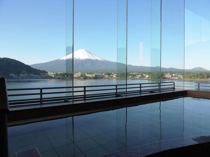 全客室から富士山を望める河口湖の高級宿「河口湖温泉 湖山亭うぶや」