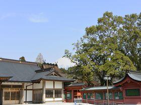 登らなくても富士山のパワーを感じられる「富士山本宮浅間大社」界隈
