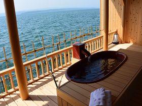 客室で釣りと温泉が同時に楽しめる!能登・和倉温泉「多田屋」