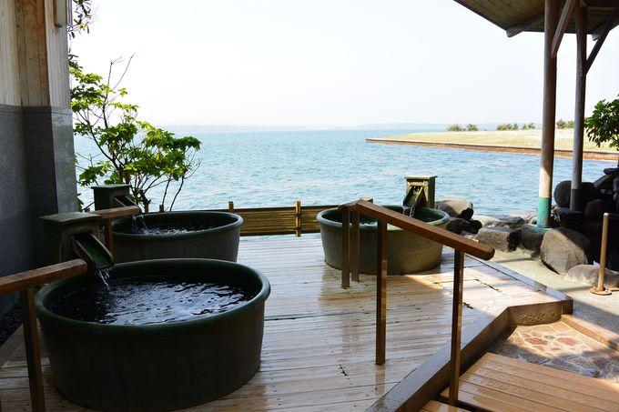 大浴場もバラエティー豊かで飲泉もできる
