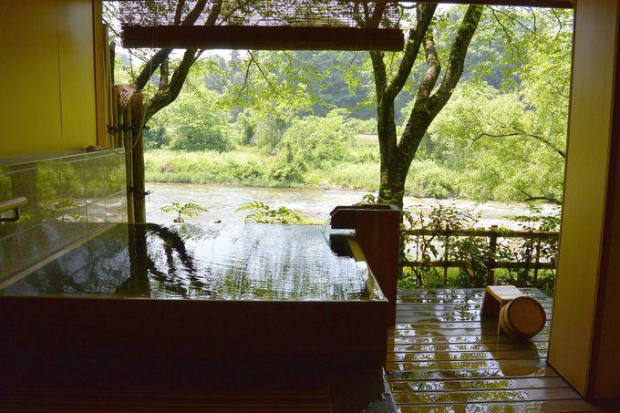 2位 金沢犀川温泉川端の湯宿滝亭