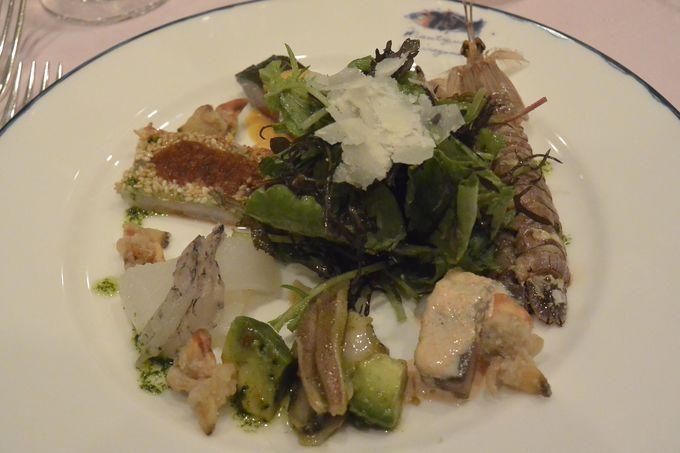 瀬戸内海の魚を知り尽くしたシェフの絶品欧風料理