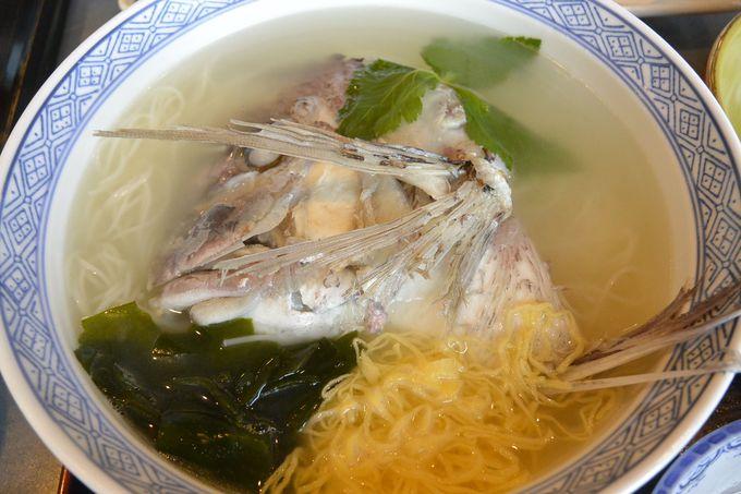 1・郷土料理の鯛めし、鯛そうめんを味わうなら「千とせ」へ!