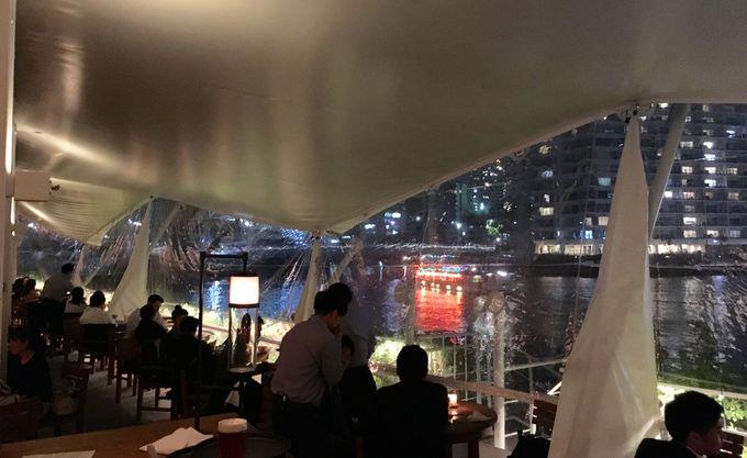 運河を目の前に建つ「T.Y.HARBOR」はアメリカ西海岸風のブリュワリーレストラン