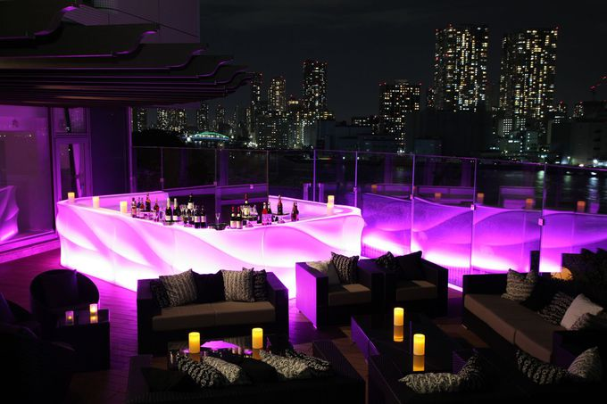 幻想的な夜景にうっとり!ホテル インターコンチネンタル 東京ベイ 「シャンパンバー マンハッタン」