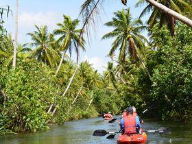 グアムのジャングル リバークルーズで探検家気分を満喫