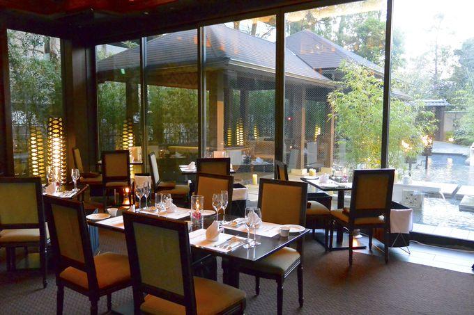 温泉リフレッシュの仕上げは「大宮璃宮」で豪華イタリアンディナーを