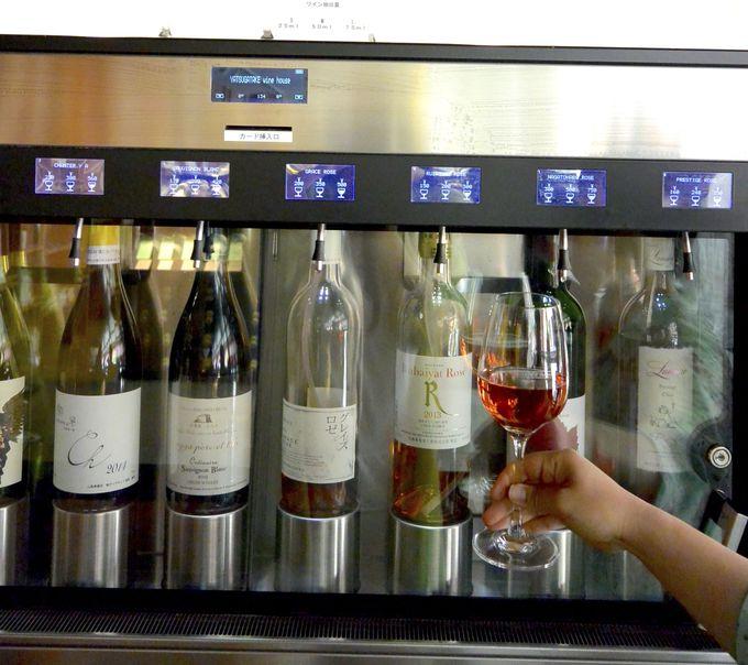 地元ワインのテイスティングが楽しめるワインリゾート