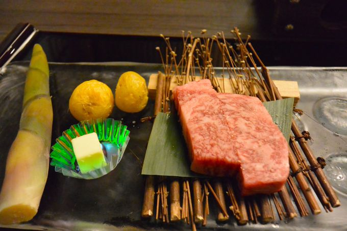 東北の旬の味を満喫!夕食は7品のメインから4品を選ぶシステム