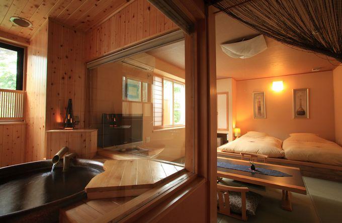エコノミーから贅沢な露天風呂付き客室まで、予算と旅のスタイルに合わせて選べるお部屋のタイプ
