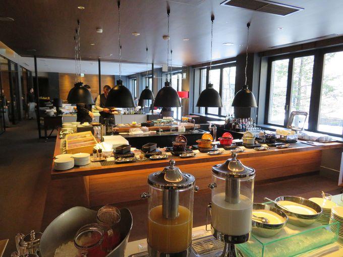 洗練された朝食&ディナーで、より贅沢な滞在を!
