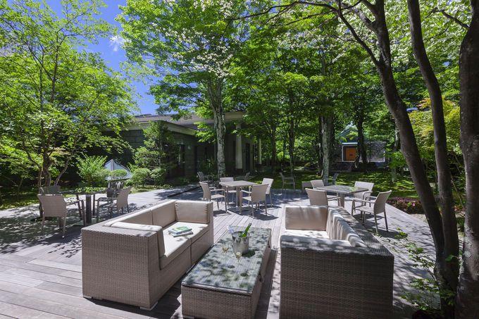 2.贅沢にテレワーク!軽井沢の高級ホテル