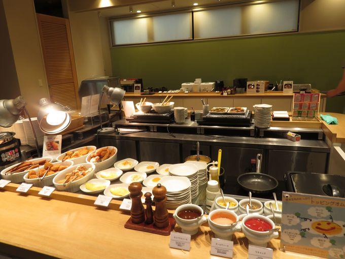 名古屋めし盛りだくさんの朝食ブッフェが超楽しい!