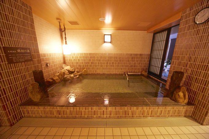 天然温泉「銀鯱の湯」でリラックス