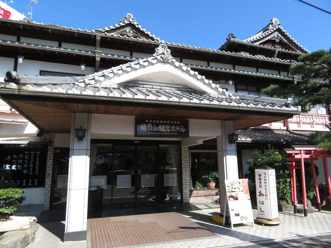 「朝護孫子寺」参道近くにある「信貴山観光ホテル」