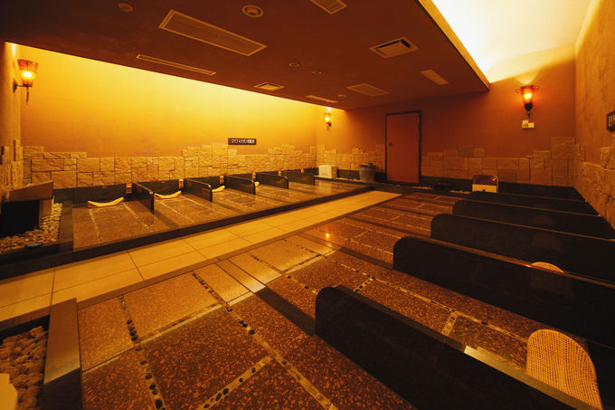 バラエティーに富んだ温泉施設