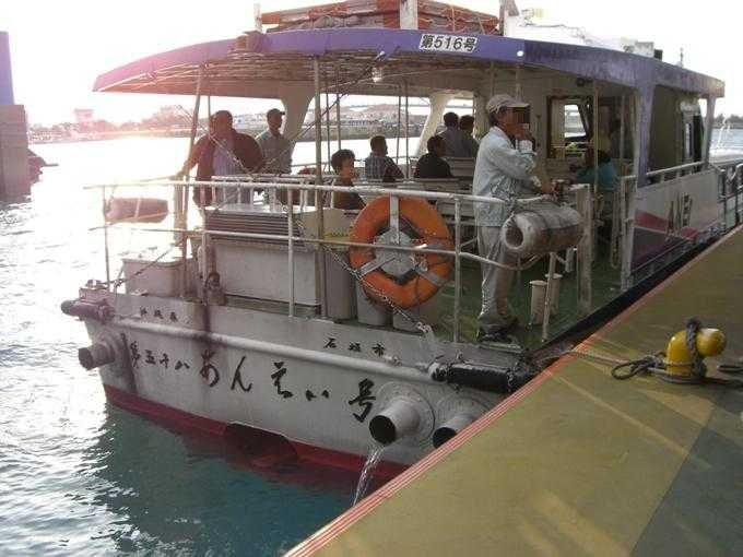 石垣島から高速船で60分!!