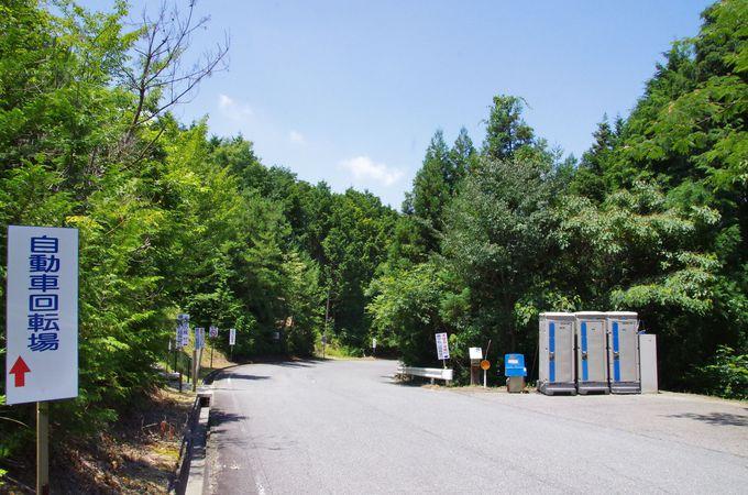 カーナビでは行けない!?備中松山城展望台