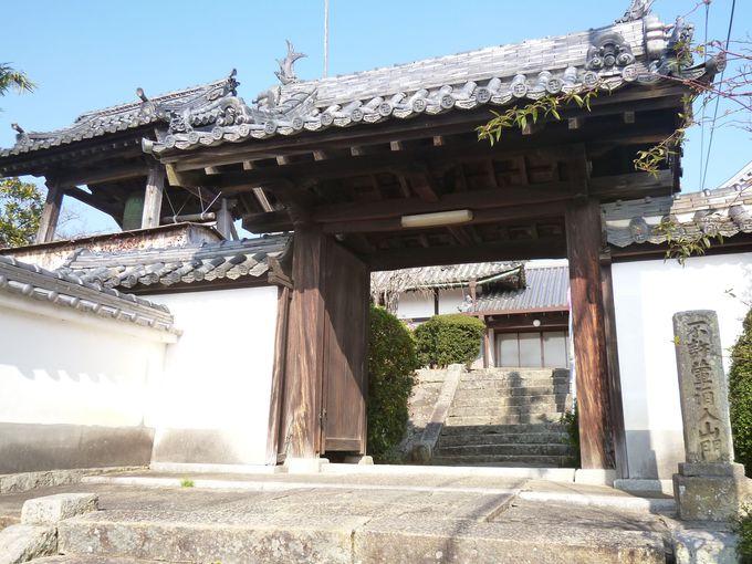 光姫の実家、志方城跡に建つ観音寺