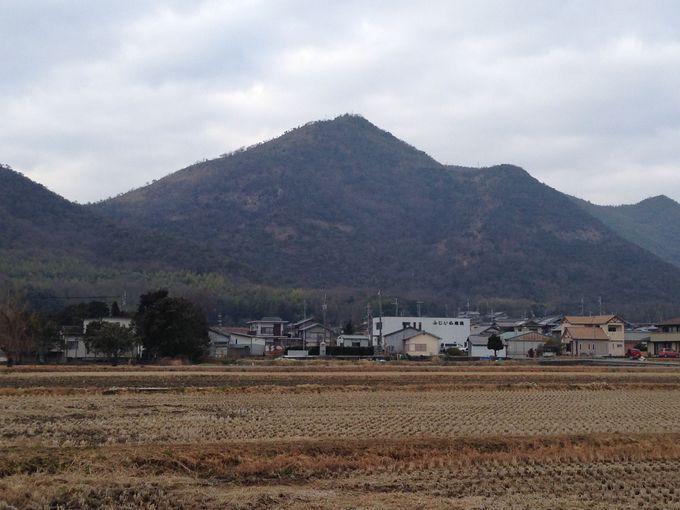 姫路城と志方城の間にある山岳崇拝の聖地「高御位山」