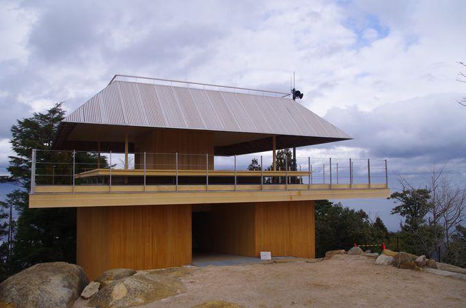 日本三景の一の真価は頂上の眺めにあり