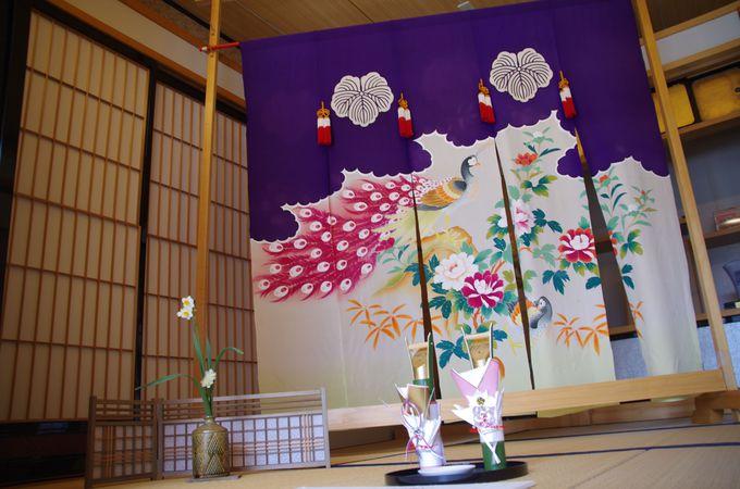 加賀藩特有の庶民の風習「花嫁のれん」