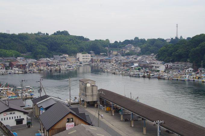 室津という港町