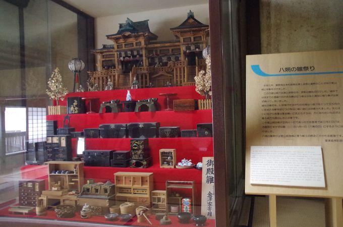 室津のひな祭りは8月に。「八朔のひな祭り」
