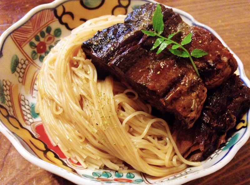 滋賀県長浜市の麺料理「 そうめん」。 に入るのは?