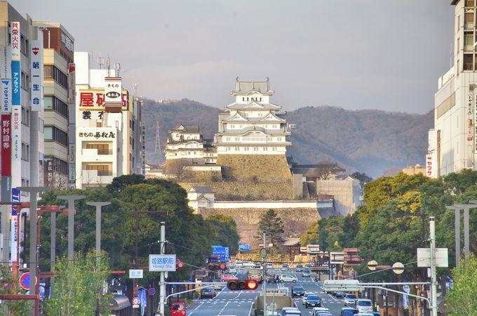その1・姫路駅の新名所、展望テラス「キャッスルビュー」