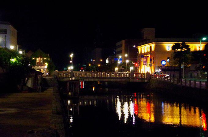 水の都の夜景散歩