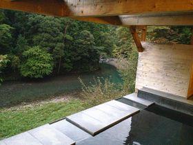 四万十川の幸と清流を望む露天風呂に感激「ホテル松葉川温泉」