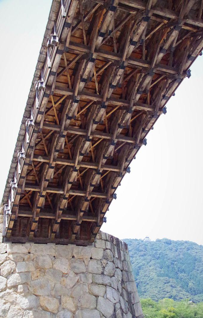 錦帯橋を支える、語り次がれた高い技術