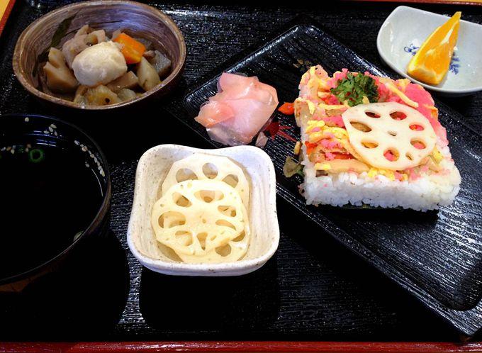岩国寿司は、戦に備えた保存食