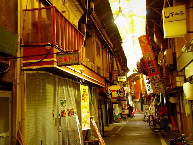 昭和の風景「天王寺駅前阪和商店街」
