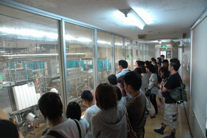シェア日本一の納豆工場を無料で見学