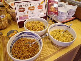 水戸プリンスホテルで名物・納豆食べくらべの朝食を!
