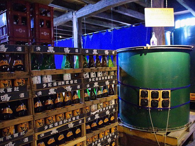 江戸期創業老舗酒蔵「鳳鳴酒造」の仕込蔵を見学