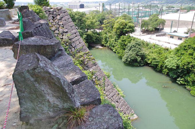 其の参.1番の見どころ、築城の名手藤堂高虎が築いた高石垣