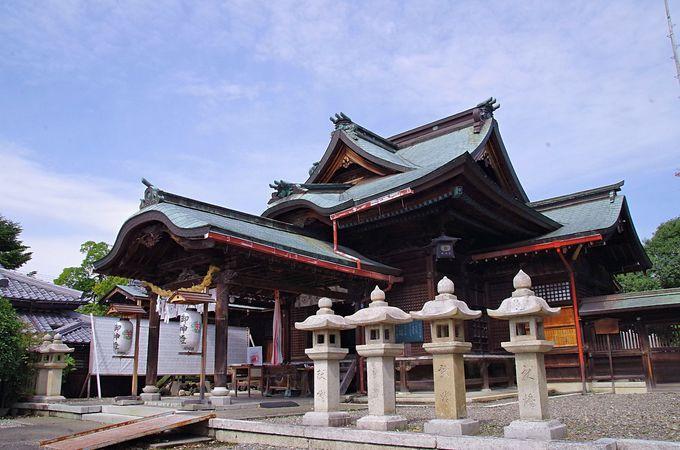 氏神として地域で親しまれている千代神社