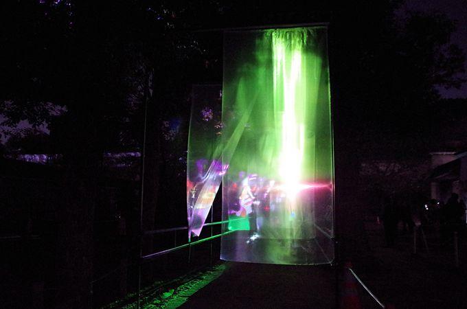 姫路城有料エリアでの開催は第1部「おとぎ幻影伝」だけ