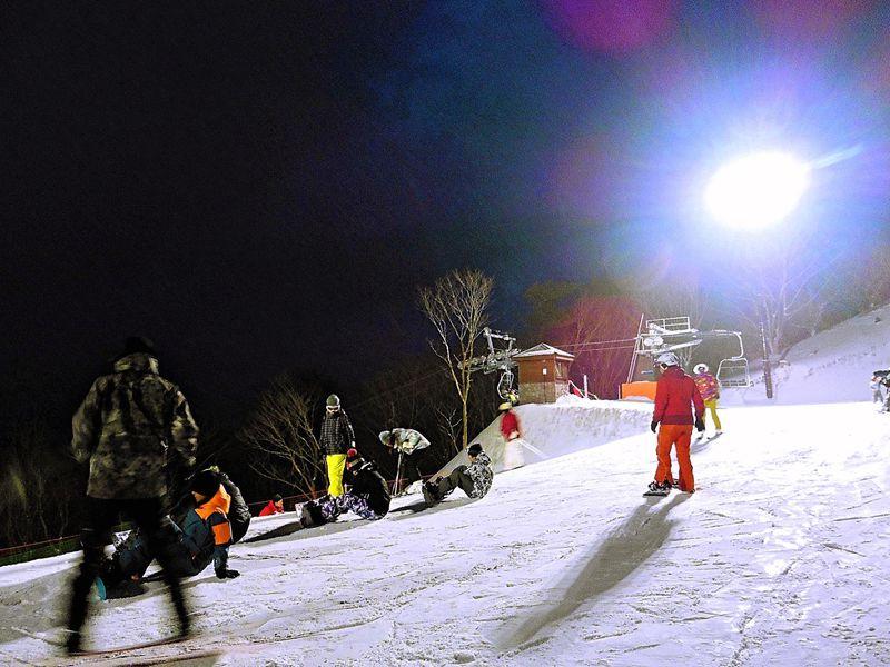 """私をスキーに""""また""""連れてって「峰山高原リゾート ホワイトピーク」"""