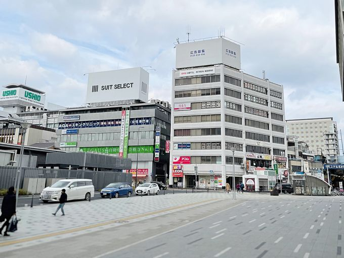 雨の日も傘いらず!「OYOカプセル姫路駅前」