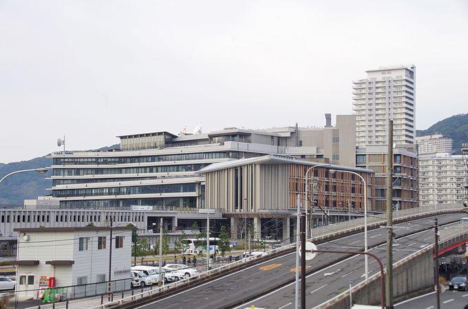 駅から徒歩5分、新長崎県庁舎に行ってみよう