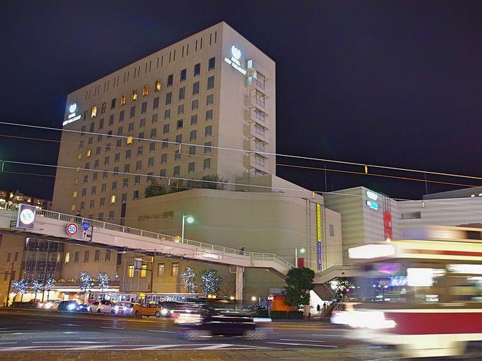 観光の拠点に最適「ホテルニュー長崎」