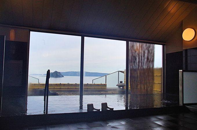 温泉と温水プール、阿武町の玄関「道の駅阿武町」へ