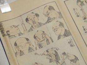姫路城へ行くなら兵庫県立歴史博物館、「へんがおの世界」開催中