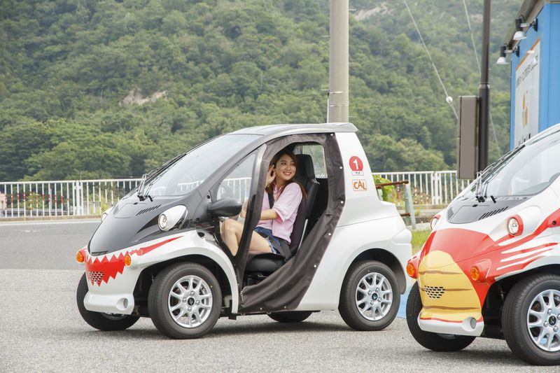 かわいくドライブしよう!「ジオコムス」で鳥取砂丘や浦富海岸へ